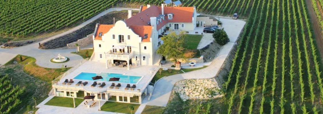 Slottsferie og vingårder i Balaton området